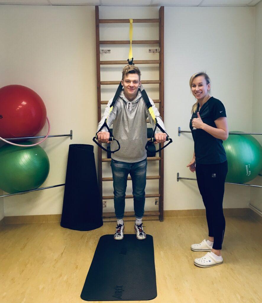 Iepazīst fizioterapeita darbu