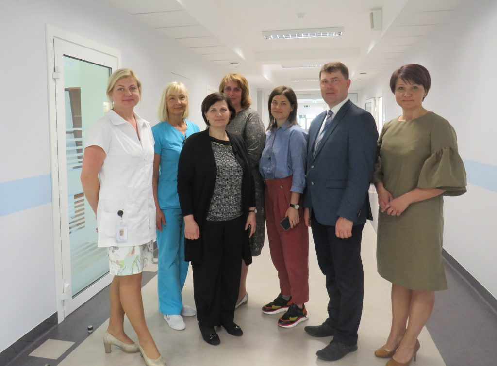 Veselības ministre Ilze Viņķele apmeklē  Vidzemes slimnīcu Valmierā