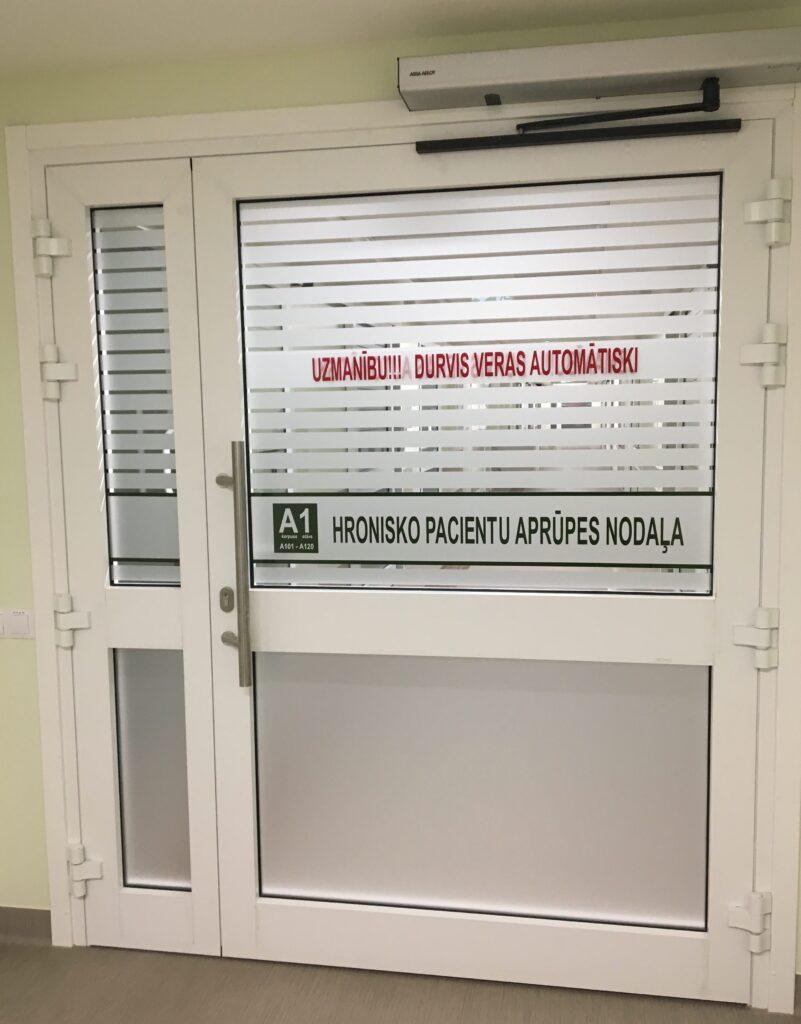 Atvērta pārbūvētā hronisko pacientu aprūpes nodaļa