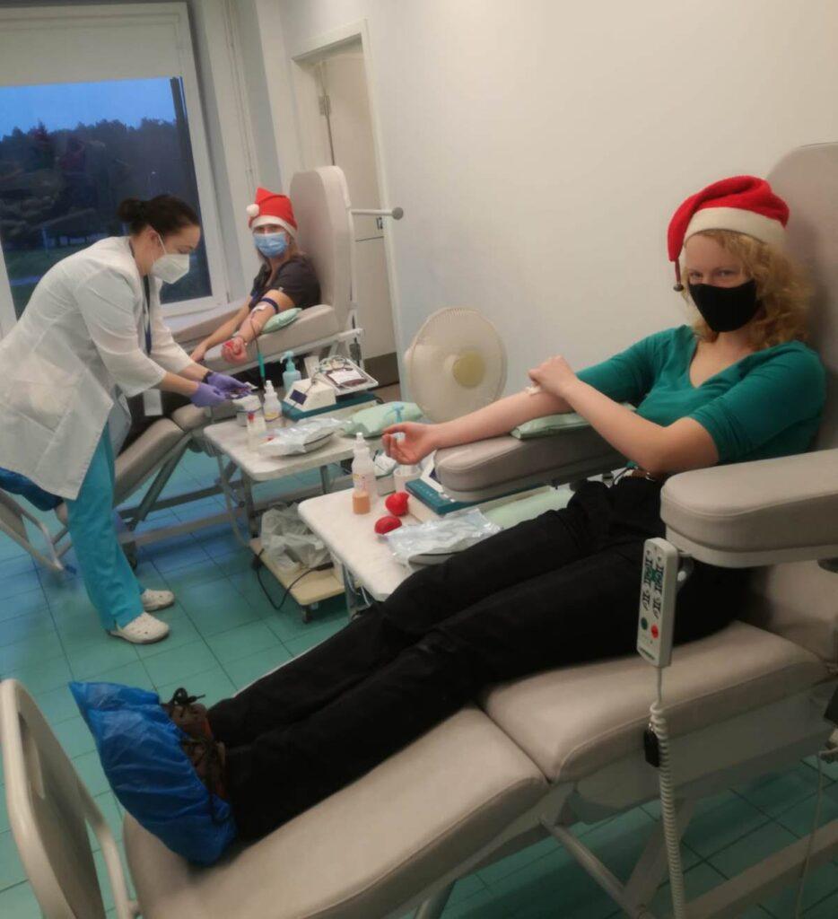 Paldies asins donoriem Ziemassvētkos!