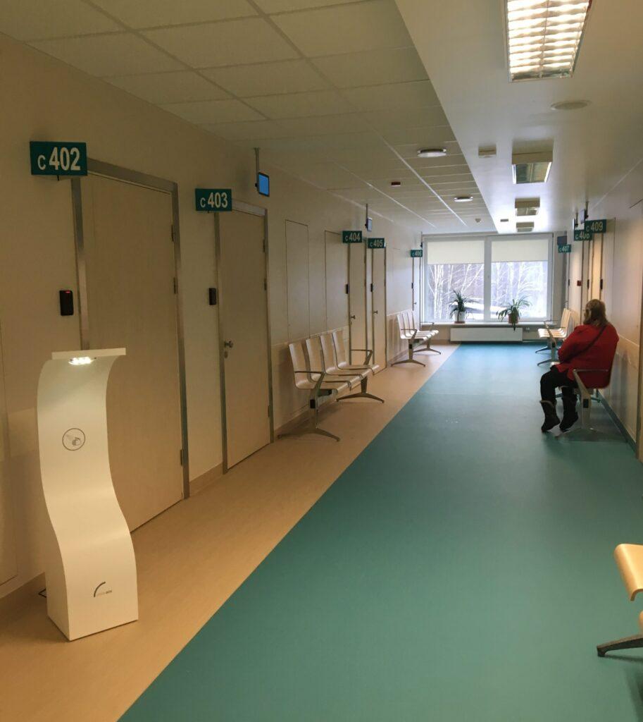Ambulatoro pacientu ērtībām un drošībai